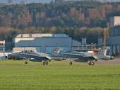 Hornet F/A-18D J-5232 und Hornet F/A-18C J-5017