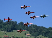 Patrouille Suisse mit PC-21